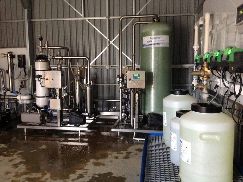 Forsi Aquafier IM Installation - Mangawhai Heads Golf Resort